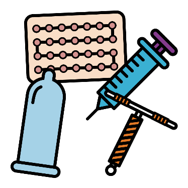 Different types of contraception