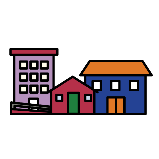 Different types of house icons