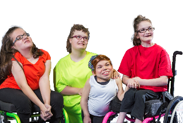 4 women with disability