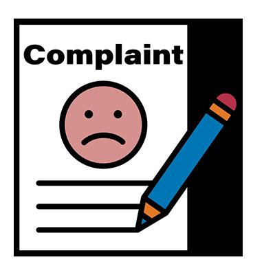 A complaint document