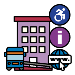 Accessible transport, building, information and website